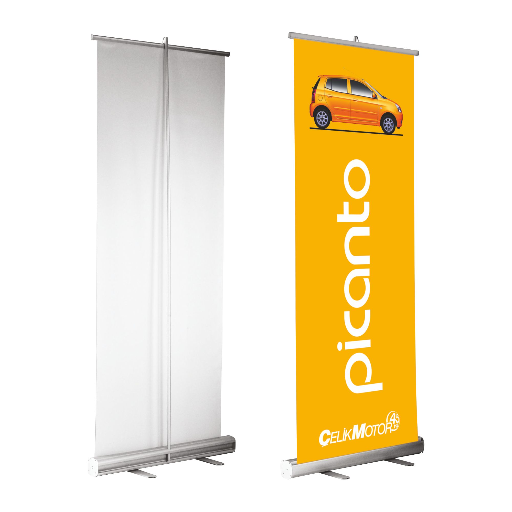 Pull Up Banner In Full Colour At The Best Prices Around