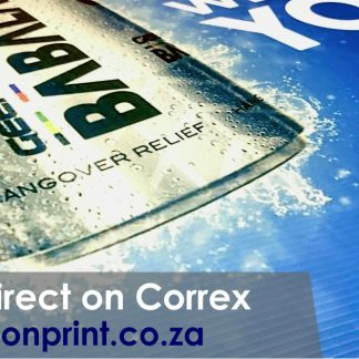 Full colour correx boards