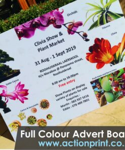 Full Colour Advert Printing