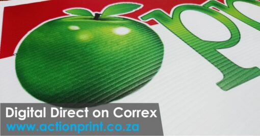Full colour correx printing