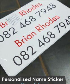 Personalised Name Stickers