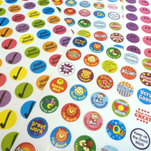 Full colour stickers