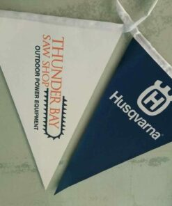 Full colour custom bunting flags