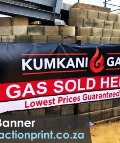 Full colour PVC banner